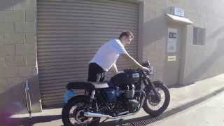 4. BEST SOUNDING TRIUMPH BONNEVILLE EXHAUST!!!