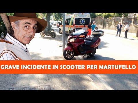 grave incidente in moto per martufello, è in gravi condizioni