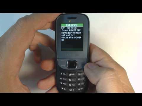 Samsung Metro E2202 factory reset
