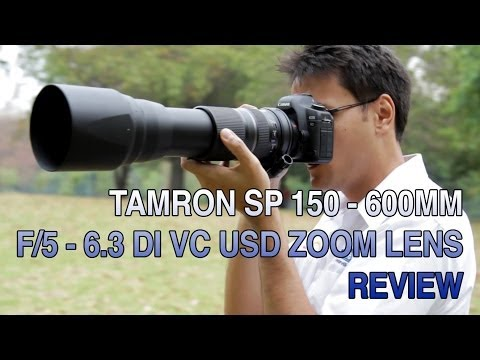 VC - This week on Leederville Camerahouse TV, Lucas Scheffel reviews the Tamron SP 150-600mm F5-6.3 Di VC USD Zoom Lens. For more information or to order this pro...