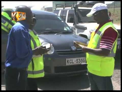 Msako wa NTSA katika barabara ya Nakuru-Nairobi (видео)
