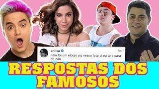 ANALISANDO RESPOSTAS DOS FAMOSOS ft Foquinha | Maicon Tudo