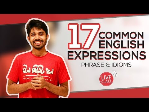 Common English Expressions