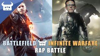 BATTLEFIELD 1 vs INFINITE WARFARE | Dan Bull vs Idubbbz rap battle