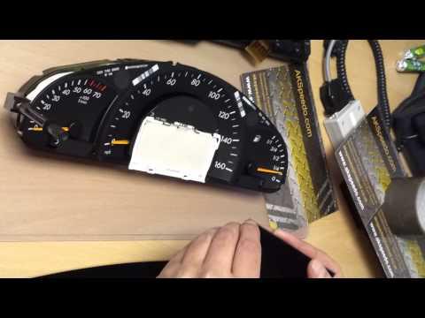 Mercedes C class W203 Speedometer LCD Pixel Repair