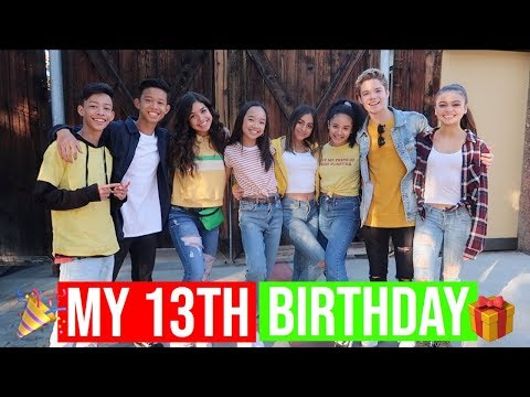 Birthday wishes - MY 13TH BIRTHDAY + KNOTT'S BERRY FARM!! Vlogmas Day 8!! Nicole Laeno