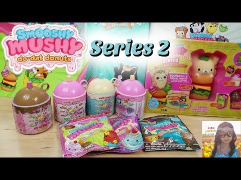 NEW SMOOSHY MUSHY SQUISHIES AT WALMART!!! BENTO BOX, BLIND BAGS, FROZEN TREATS WITH SPECIAL PETS ...