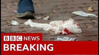 Video New Zealand shooting eyewitness: The shooting lasted for 10 to 15 minutes - BBC News MP3, 3GP, MP4, WEBM, AVI, FLV April 2019