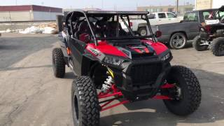 10. 2017 XP Turbo RzR with a Rockford Fosgate Stage 4 Stereo