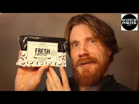 Beard oil - FRESH MEAT Masculine Wipes? Scotch Porter Sends me an Epic box of Beard Products