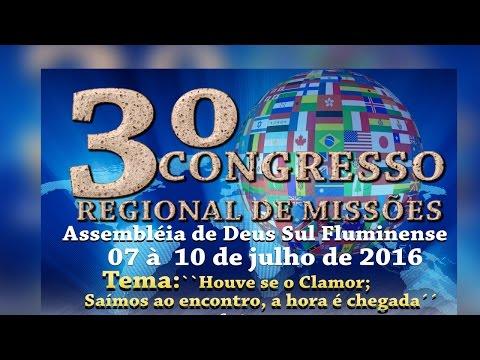 Comercial do 3º congresso de Missoões em Nanuque
