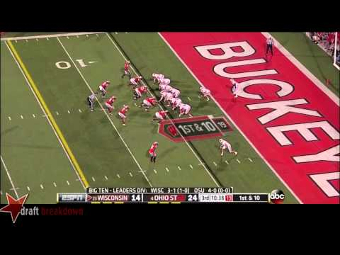 Noah Spence vs Wisconsin 2013 video.