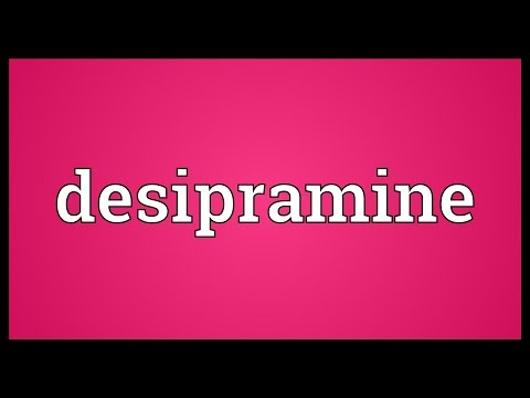 Desipramine Meaning