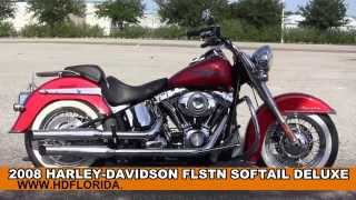3. Used 2008 Harley Davidson Softail Deluxe  Motorcycles for sale