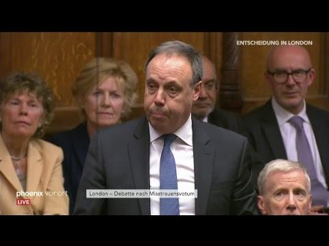 Debatte im britischen Parlament zum angekündigten Mis ...