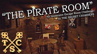 The Pirate Room - Escape Room Challenge Trailer
