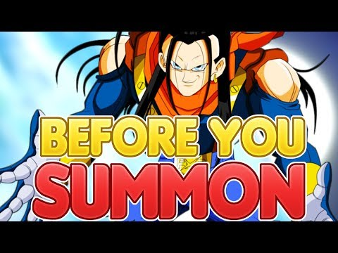 BEFORE YOU SUMMON! Team Building For Super Android 17! Dragon Ball Z Dokkan Battle видео