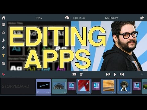 BEST - Steve looks at some of the best video editing apps for Android, iOS, and windows 8. GET OUR OFFICIAL APP: http://bit.ly/aIyY0w More stories at: http://www.sourcefed.com Follow us...