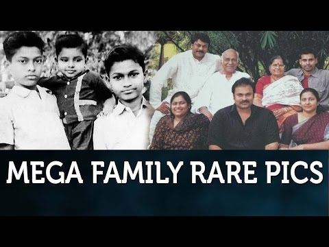 Mega Family Rare Unseen Video : Photos | Chiranjeevi | Pawan Kalyan | Allu Arjun | Mega Heroes
