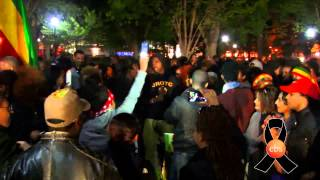 EBS special  candlelight vigil and marching  april 23,2015