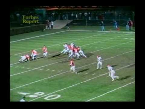 Andy Gallik High School Highlights video.