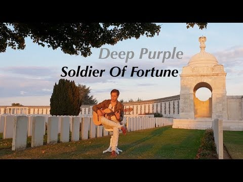 Soldier Of Fortune (Deep Purple) Acoustic – Classical Fingerstyle Guitar – Thomas Zwijsen