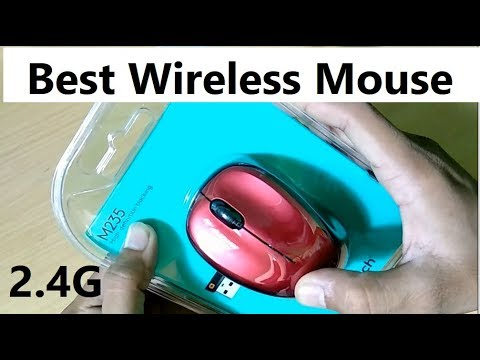 Logitech M235 Best Wireless mouse for Laptops ! Unboxing and Review in Hindi | Mr Technical
