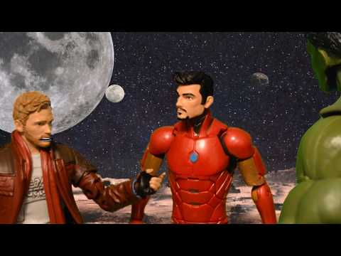 Infinity war stop motion Starlord vs Iron Man  Trailer Scene