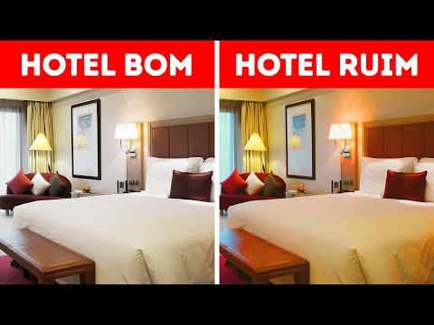 13 Sinais de que um hotel cobra demais pelo que oferece