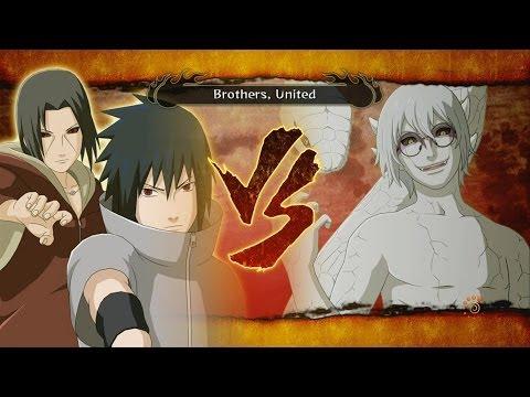 Sasuke And Itachi Vs Kabuto Storm 3