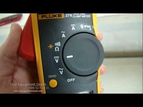 Fluke 374 600A/600V True-RMS AC/DC Clamp Meter