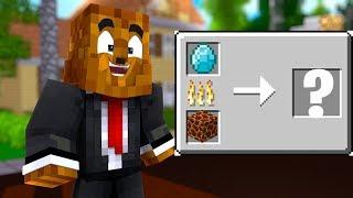 Minecraft But Every Recipe Is Random - Minecraft Scramble Craft #5 | JeromeASF