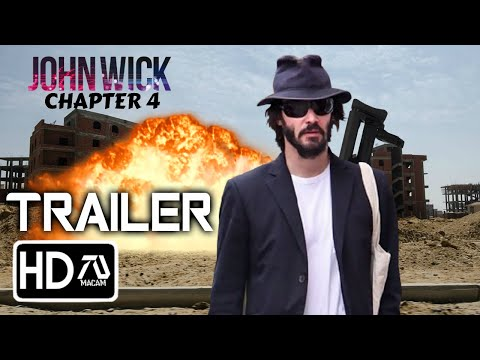 JOHN WICK CHAPTER 4 Trailer(2021)Fan Made - Keanu Reeves