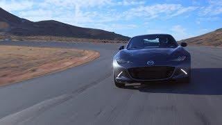 Tire Rack Hot Lap: 2019 Mazda Miata RF by Motor Trend
