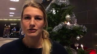 Paula Juhlin inför Alvik vs Norrköping
