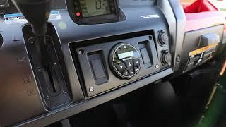 "4. Kawasaki MULE PRO-FXR Hifonics Audio Upgrade ""Overview"""