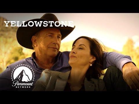 Governor Perry Enjoys a Sunset w/ John Dutton | Yellowstone Season 3 Sneak Peek | Paramount Network