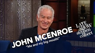 Video John McEnroe Respects Serena Williams But Stands By His Opinion MP3, 3GP, MP4, WEBM, AVI, FLV September 2018