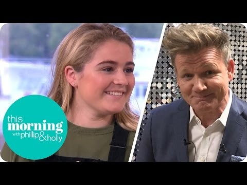 Gordon Ramsay Critiques His Own Daughter's Cooking!   This Morning