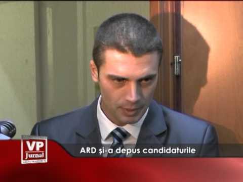 ARD și-a depus candidaturile