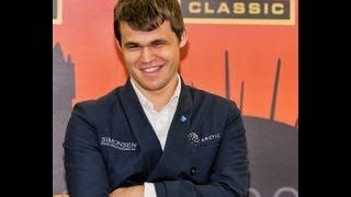 English Opening: M Carlsen vs J Polgar London 2012.