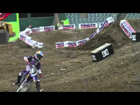 SX - The 2011 Monster Energy Supercross series kicks off in two days, but the media got a chance to see a little sneak-peek of what's going on for Saturday night....