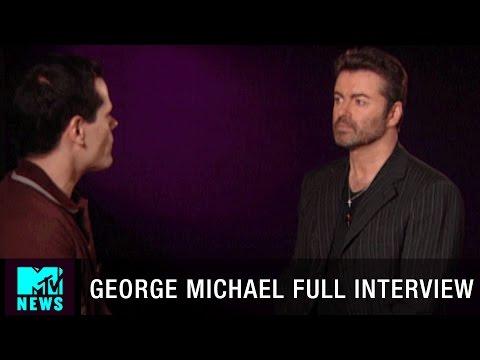 George Michael on Depression, Sexual Monogamy, 9/11 & Love + Death   MTV News 2004 Full Interview