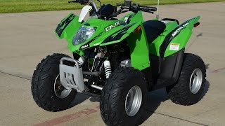 2. $2,799:  2015 Arctic Cat DVX 90 Youth ATV in Lime Green