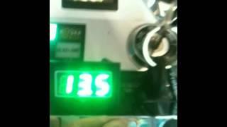 6. 2004 Kawasaki Vulcan VN750 battery charging sytem test