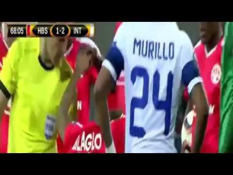 Hapoel Beer Sheva Inter 3-2 Europa league 24.11.2016 Highlights and goals