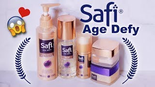 Download Video SAFI AGE DEFY Skincare Review | suhaysalim MP3 3GP MP4