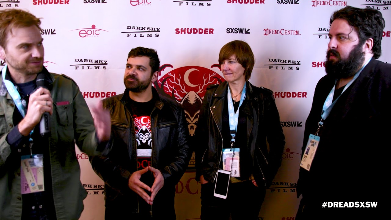 SXSW 2018 Interview Anke Petersen, Calvin Reeder, Yannis Veslemes - Field Guide to Evil