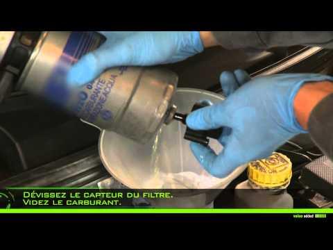 comment demonter filtre a gasoil opel corsa