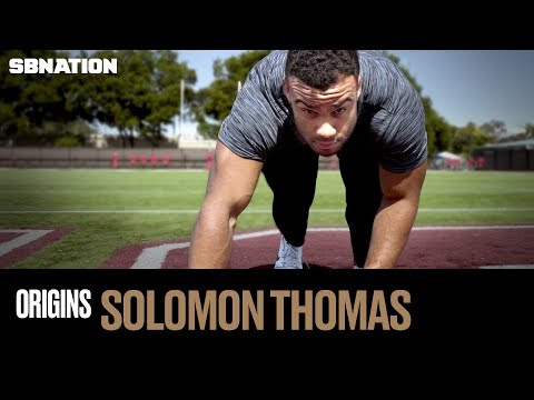 Video: How 49ers DL Solomon Thomas became a monster on the field - Origins, Episode 16